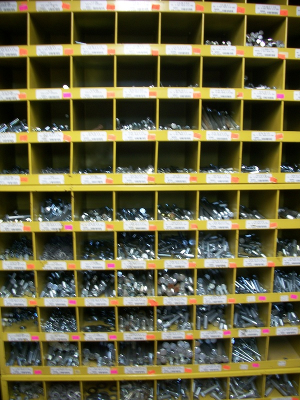 Bolts; Nuts: Washers;